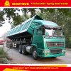 100ton 4 Semi Aanhangwagen van de Vrachtwagen van Assen BPW/Fuwa de Zij Tippende