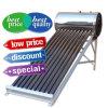 calefator de água solar das câmaras de ar de vácuo da Não-Pressão do aço 200L inoxidável