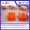 Separatore magnetico permanente della sospensione per i nastri trasportatori, trasportatori oscillanti
