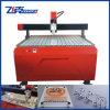Anunciando o sinal que faz a máquina do CNC para o MDF, placa de identificação, alumínio, madeira
