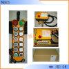 De controle remoto sem fio industrial de rádio de F24-10s Telecrane