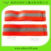 Hook & Loop Closure (HXW-E079)를 가진 Leg 사려깊은 악대 Safety 주황색 Elastic Fabric