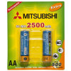 Mitsubishi Ni-MH AA2500mAh Rechargeable Battery 1.2V