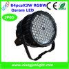 Nieuwe 84X3w RGBW/RGB LED Staat PAR Can Light