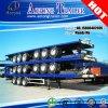 Aanhangwagen van de Vrachtwagen van de Container van de tri-as 48FT Flatbed Semi