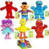 Het Speelgoed van de Pluche van de Inzameling van de Familie van het Sesame Street