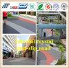 Pavimentazione antiscorrimento variopinta della regolazione veloce usata per la rampa di parcheggio/passaggio della bicicletta/passaggio pedonale