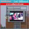 壁に取り付けられたP10フルカラーLEDスクリーン表示屋外広告