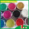 Multi polvere di scintillio di colori per la decorazione del chiodo