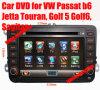 VWのゴルフ(LTM-6010)のための車DVD