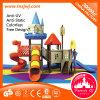 Parque temático respetuoso del medio ambiente Equipment de Kids con Plastic Slides