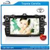トヨタCrolla (z-3049)のための8インチ車DVD GPS Bluetooth
