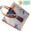 Sacs à provisions faits sur commande non tissés de vente en gros de logo de tissu d'usine de la Chine