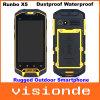 Runbo original X5 IP67 Smartphone al aire libre rugoso impermeable a prueba de polvo con 4.3 el  tacto SIM dual Mtk6577 se dobla el RAM 1GB+ROM 4GB de la base