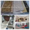 PVC schäumte Dekoration-Marmorformenstrangpresßling-Zeile Maschine