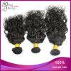インドのバージンの毛水波の人間の毛髪のよこ糸
