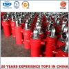 Côté-Dumping du cylindre hydraulique télescopique, cylindre de pétrole
