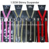 2016 Madame chaude Style Shiny Suspenders Multi colore 1.5*100cm