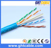 4X0.5mmcca+0.9mm PE+Cross+6.0mm Grey PVCIndoor UTP Cat6e LAN Cable/Network Cable