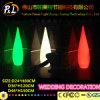 Luz colorida moderna do assoalho do diodo emissor de luz da decoração do casamento do evento