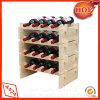 Cremagliere di visualizzazione di legno del vino della cremagliera del vino