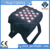 Impermeable 18 * 8W LED Efecto Luces al aire libre arandela de la pared Luz
