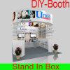 Cabine portátil personalizada e reusável da exposição para a feira profissional