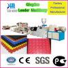 Suelo plástico de PVC de la máquina del azulejo Producción