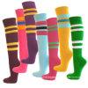 Calzini asciutti di calcio del ginocchio di sport di misura di alta qualità dell'OEM