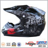 МНОГОТОЧИЕ черное Motorcross/с шлема дороги с надписью на стенах (CR402)