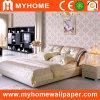 Papiers de mur romantiques de conception de chambre à coucher pour la décoration