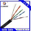 Cable al aire libre de UTP Cat5e/cable externo de Cat5e