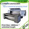 Impresora de chorro de tinta ULTRAVIOLETA de la correa rotatoria de múltiples funciones de Uvip Ricoh