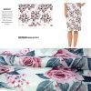 Модная напечатанная цифров одежда Organza и домашняя ткань платья тканья