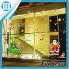 La ventana de los regalos de la Navidad de la Feliz Navidad se aferra etiqueta engomada de las etiquetas