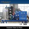 Máquina de gelo do floco da eficiência elevada 10tpd de Focusun
