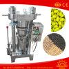 Precios de la maquinaria del molino del aceite de oliva de la prensa de aceite hidráulico