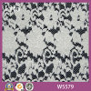 Nouveau Wavy Design White Lace Fabric pour Clothes