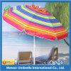 Зонтик пляжа средней колонки круглый напольный