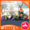 Neues Ankunfts-Schule-Yard-Plastikkind schiebt Spielplatz-Gerät