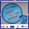 Förderndes Soem-Zeichen-Gewebefaltbarer Frisbee