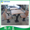 상업적인 Outdoor Metal Table 및 Chairs 또는 Iron 정원 Table, Back Seats (FY-051HB)를 가진 Picnic Table
