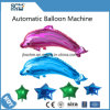 Máquina automática do balão do hélio dos desenhos animados da máquina