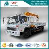 Cdw 4X2 émission d'Euro-II de camion de grue montée 7 par tonnes
