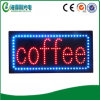 Signe de café de DEL