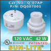 Cfls를 위한 전자 각자 Ballasted Lamp Adapters Used; Q-07ap
