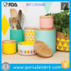 Canister di ceramica Sets Tea Coffee Canisters per Kitchen Canister Set