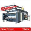 4 Farben-flexographisches Drucken-Maschinen-schraubenartiges Hochgeschwindigkeitsfahrwerk