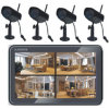 7 Network Digital Wireless Home Monitoring System