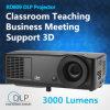 5000 Lumen-Projektor 1024X768 mit Replacable Birnen-Ultrahochdruckmercury-Lampen-Unterstützungsvollem HD 1080P VGA